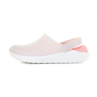 Crocs-Literide-Clog-Barely-Pink-White-204592-6PL-Women-Unisex-Flip-FLops-Shoes-06